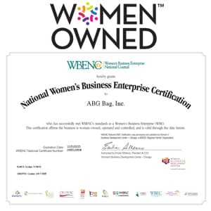ABG Receives Women's Business Enterprise National Council (WBENC) Certification
