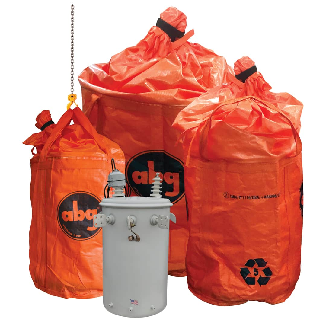 ABG BOB Single-Use Pole Mount Transformer Containment Bags
